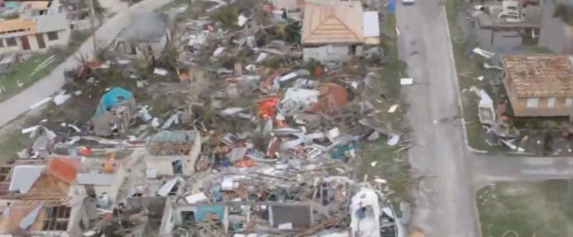 "Videos: Barbuda, la isla del Caribe, que Irma ""desapareció"""