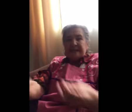 """Video: La descarga de una abuelita mexicana por la farsa de """"Frida Sofía"""""""