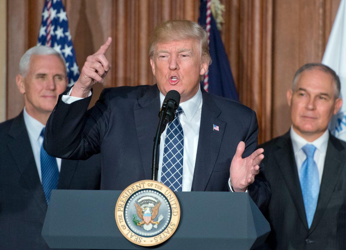 La otra gran mentira de Trump al mundo