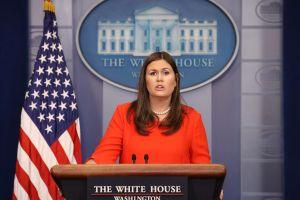 Sarah Sanders, exportavoz de la Casa Blanca, estaría preparando campaña política