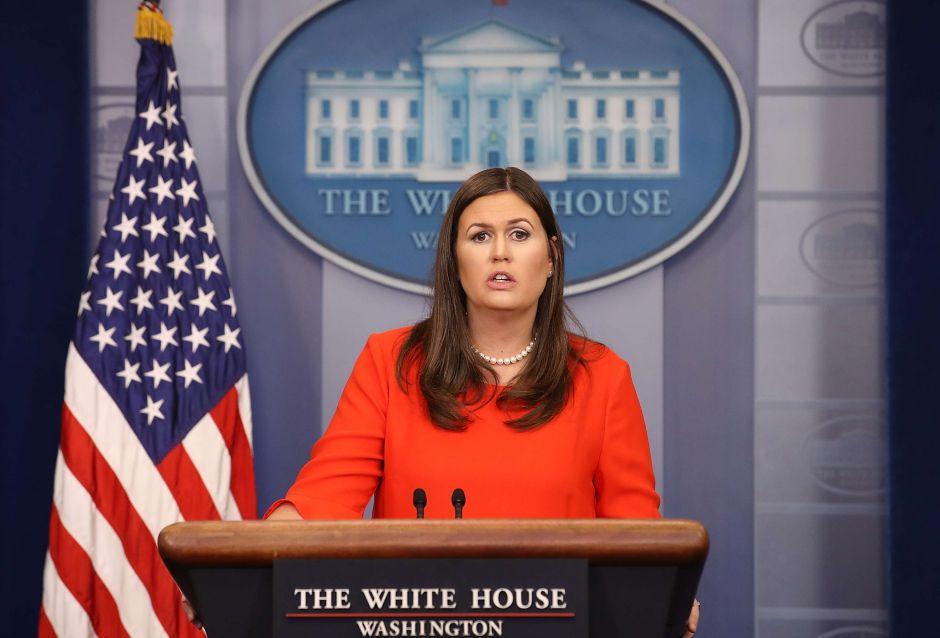 Sarah Sanders dejará de ser portavoz de la Casa Blanca; Trump la quiere como gobernadora