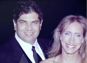 Esposo de Lili Estefan lucía incómodo en video por los 25 años de casados