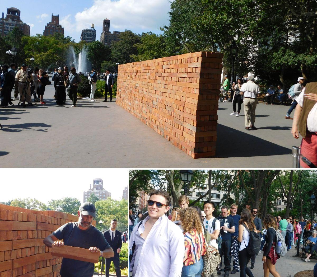 El muro de un artista mexicano que unió a los neoyorquinos