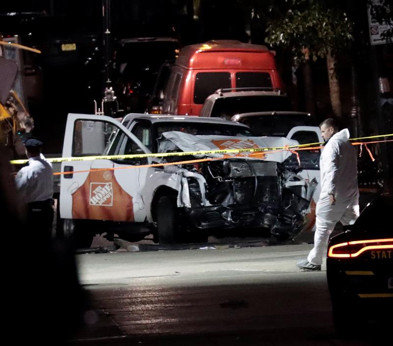 "Mensaje en camión de ""terrorista"" de Manhattan revela secreto"