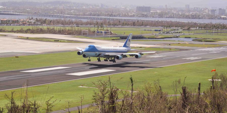 Los secretos del Air Force Two, el avión que llevará a vicepresidente de EEUU a PR