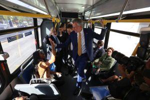 Ampliarán el servicio de autobuses selectos en la Gran Manzana