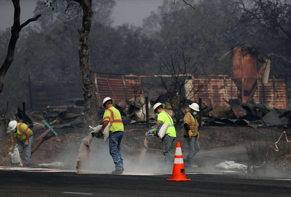 35 muertos por incendios en California