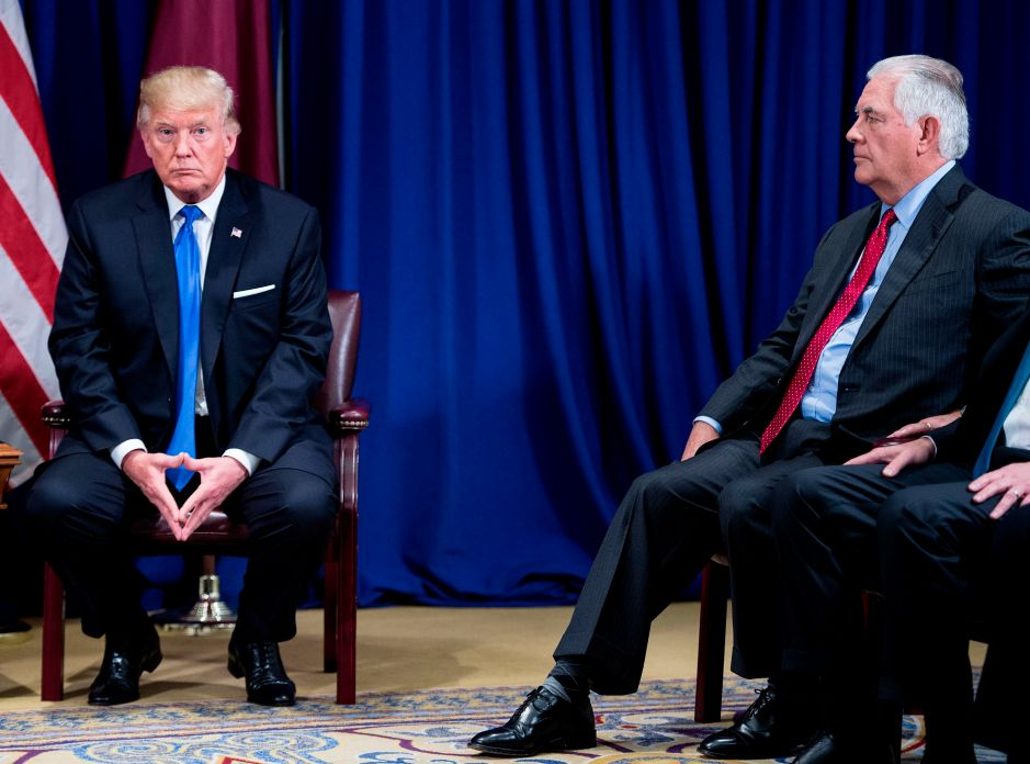 """Trump descarta ser """"idiota"""" y reta a comparar su coeficiente intelectual con Tillerson"""
