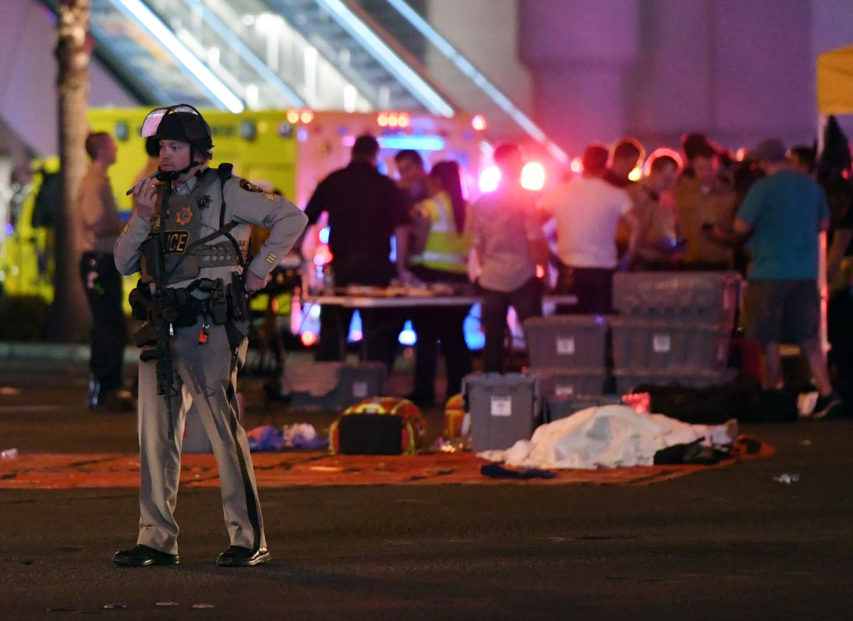 Aumenta a más de 400 los heridos por masacre en Las Vegas