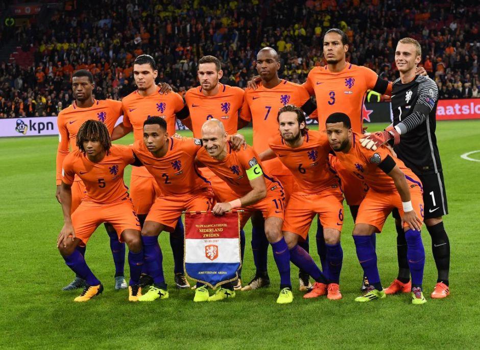 Por qué la poderosa Holanda fue eliminada de Rusia 2018