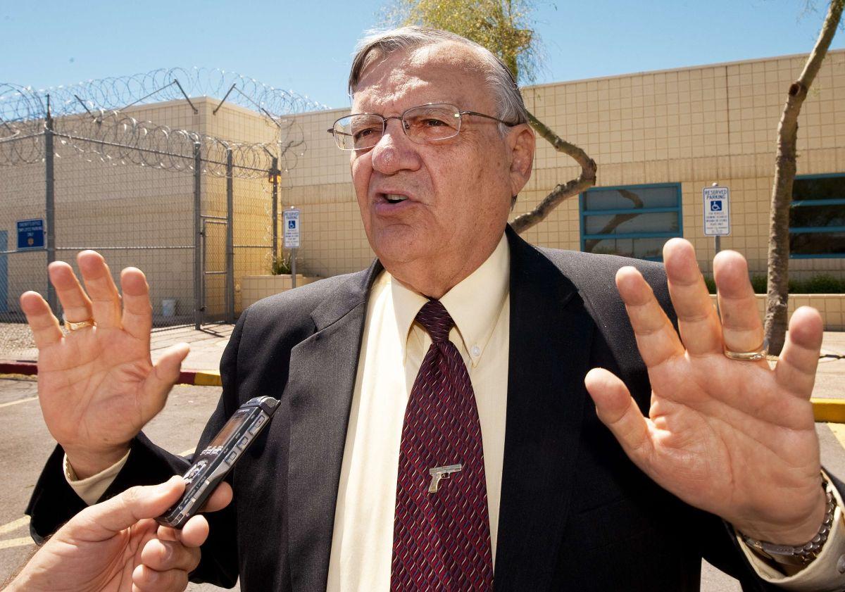 Duro golpe para Joe Arpaio, el sheriff antiinmigrante más recio de EEUU