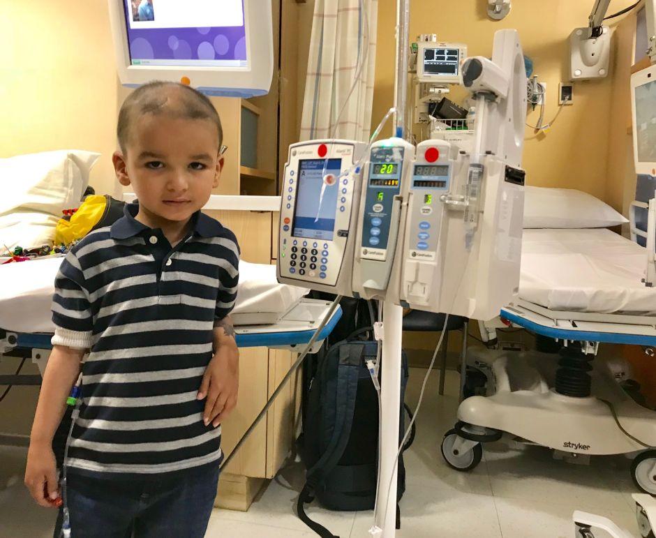 Niño con cáncer cerebral es un milagro boricua en El Bronx