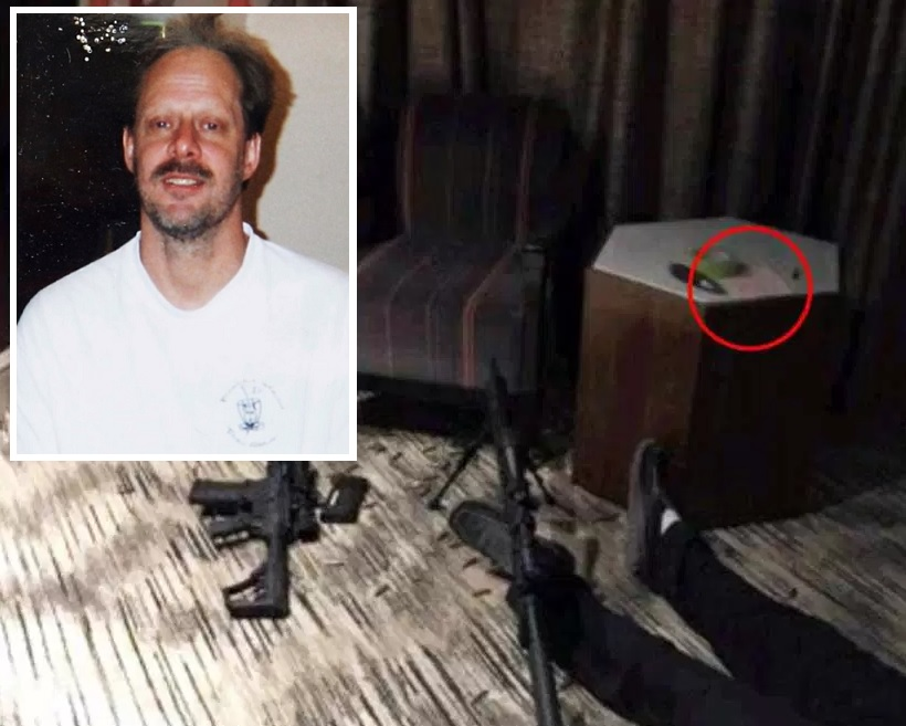 Revelan contenido de la misteriosa nota del tirador de masacre en Las Vegas