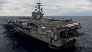 Cae avión militar de EEUU al mar con 11 personas a bordo al sureste de Japón