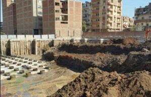 Ellos construían una casa y hallaron un santuario egipcio