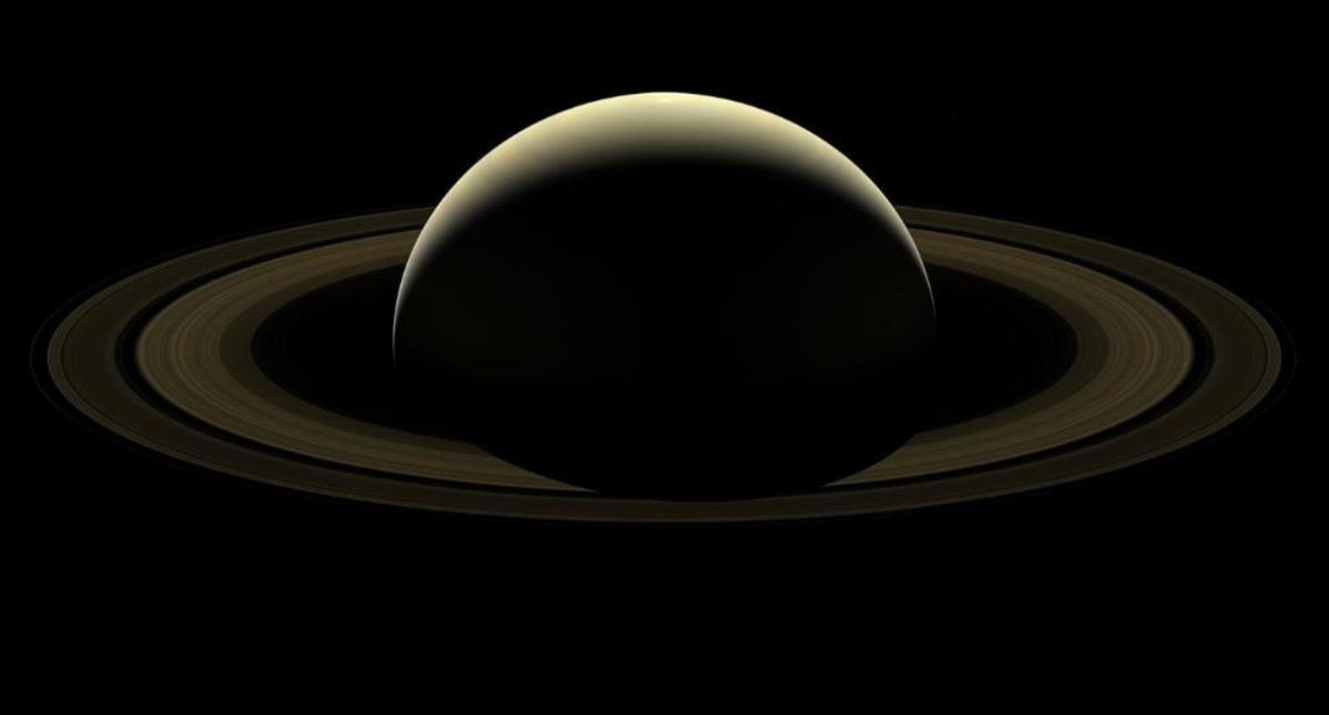 La impresionante fotografía con la que la NASA se despide de Saturno