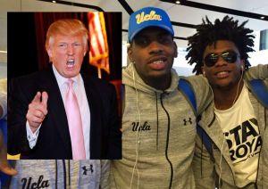 """Trump estalla : """"Debería haber dejado en prisión a los basquetbolistas liberados en China"""""""