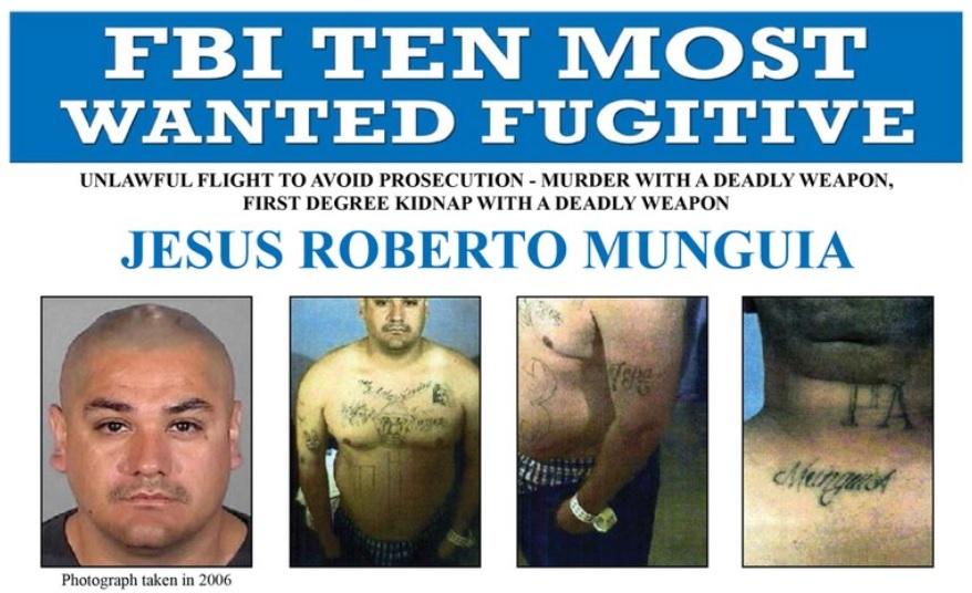 El FBI integra a otro hispano en la lista de los 10 más buscados