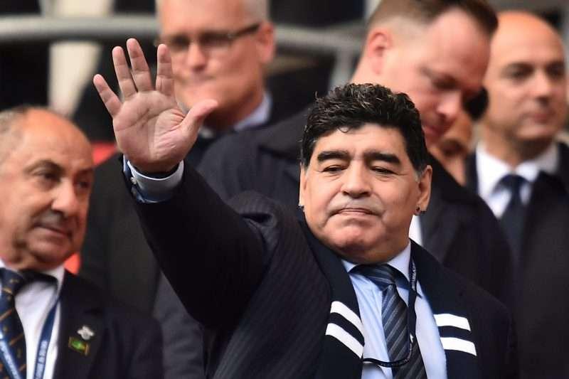 Maradona esperó un año para hablar de la tragedia de Chapecoense