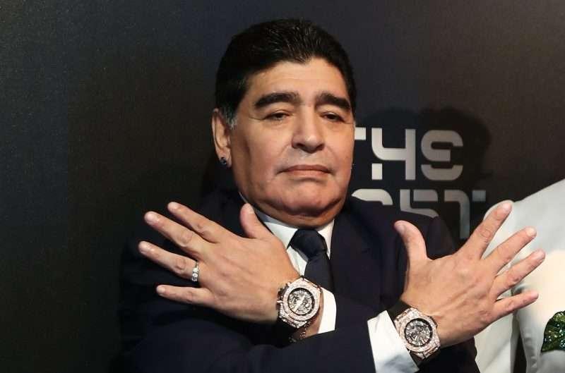 Maradona fue el gran ausente en el ensayo del sorteo mundialista ¿Estará este viernes?