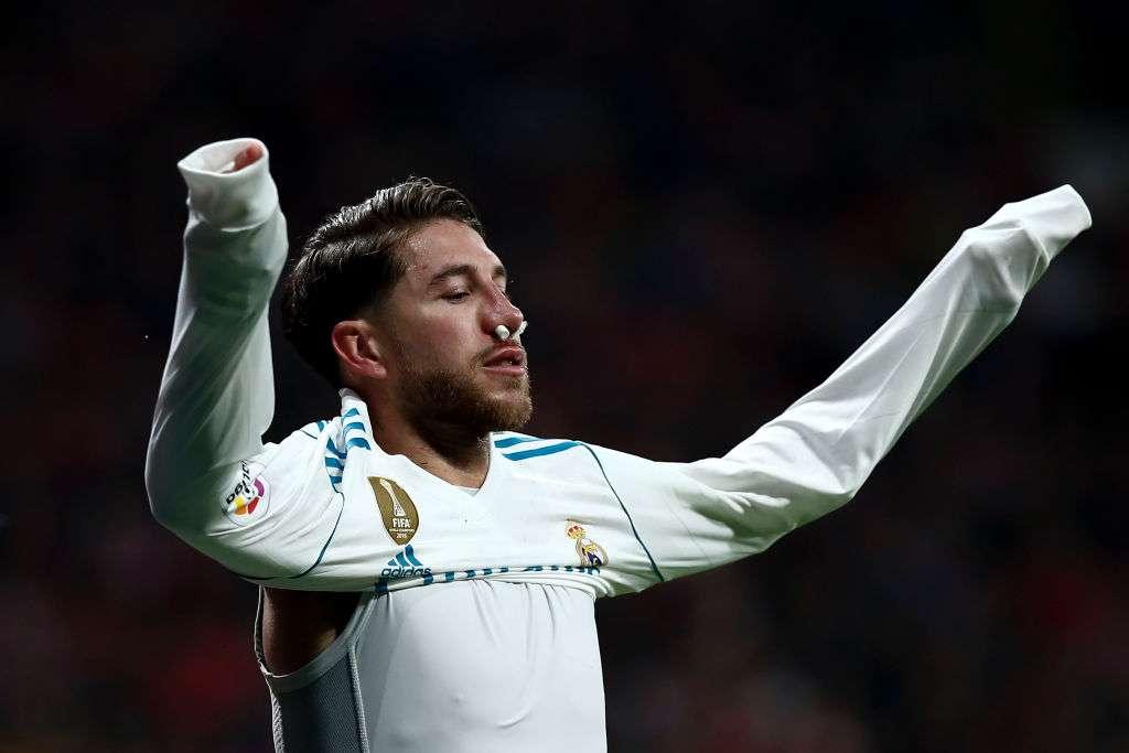 """Sergio Ramos: """"Volvería a sangrar una y mil veces más por este escudo"""""""