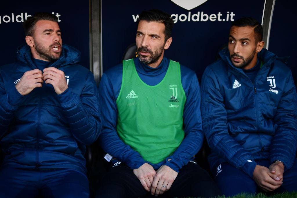 Buffon fue suplente con Juventus porque tiene el ánimo en el piso