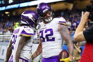 Vikings se lleva el primer partido del Día de Acción de Gracias