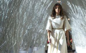 Melania Trump muestra su potencial en la Casa Blanca