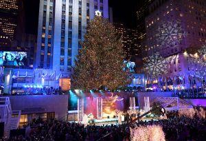 El antes y el después del árbol de Rockefeller Center