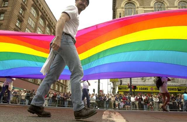 Comunidad LGBTQ en NYC protesta contra gobierno de Donald Trump