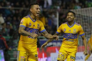 Edu Vargas rescató un empate para Tigres en su visita a León