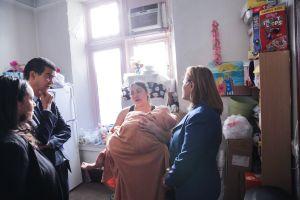 Empeora salud emocional de madre refugiada en iglesia del Alto Manhattan