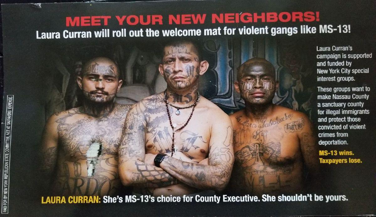 """Indignación en Long Island por """"propaganda electoral racista"""""""