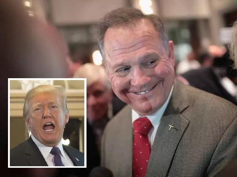 """Trump pide votar por candidato """"amante de menores"""" para el Senado"""