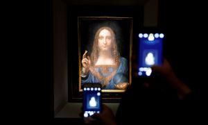 Aparece misterioso comprador del cuadro de Da Vinci