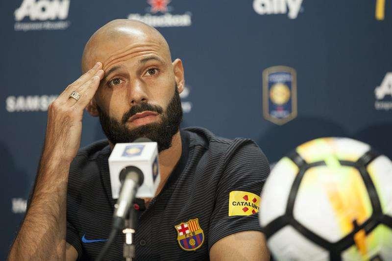 Tiempo Extra: Javier Mascherano confirmó que deja el Barcelona
