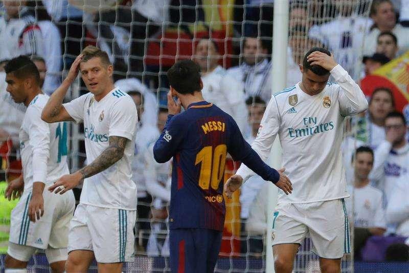 Así fue el Lionel Messi vs Cristiano Ronaldo en El Clásico