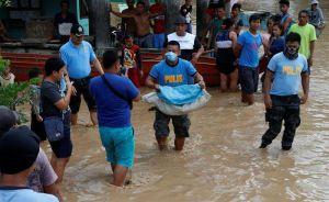 Más de 200 muertos deja tormenta Tembien en Filipinas