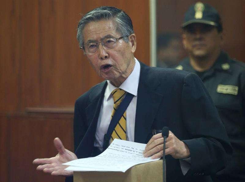 Alberto Fujimori. EFE