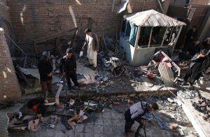 Al menos 41 muertos deja atentado suicida en Kabul