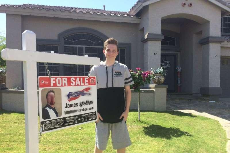 Un adolescente quiere comprar la casa de sus abuelos