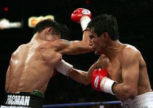 El 'Terrible' Morales y Vitali Klitschko reciben el llamado a la inmortalidad del boxeo