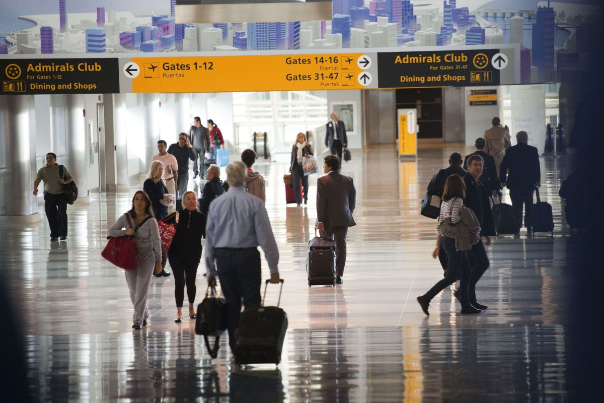 Terminal 8 del aeropuerto JFK.