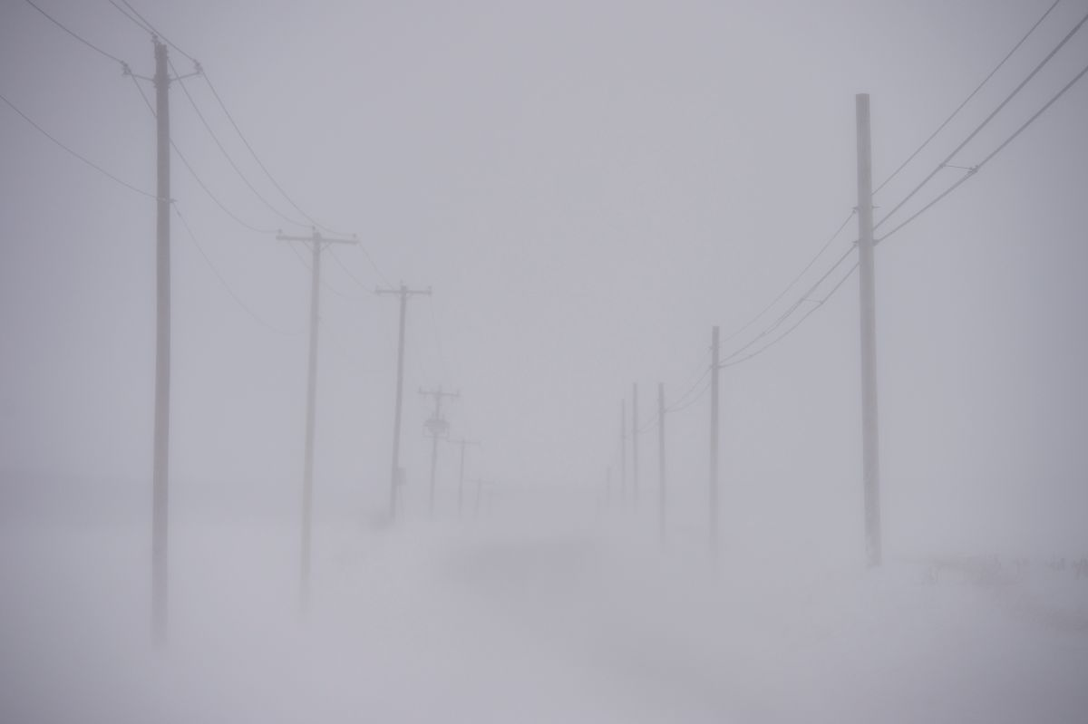 El frío brutal en EEUU se extenderá la primera semana de 2018