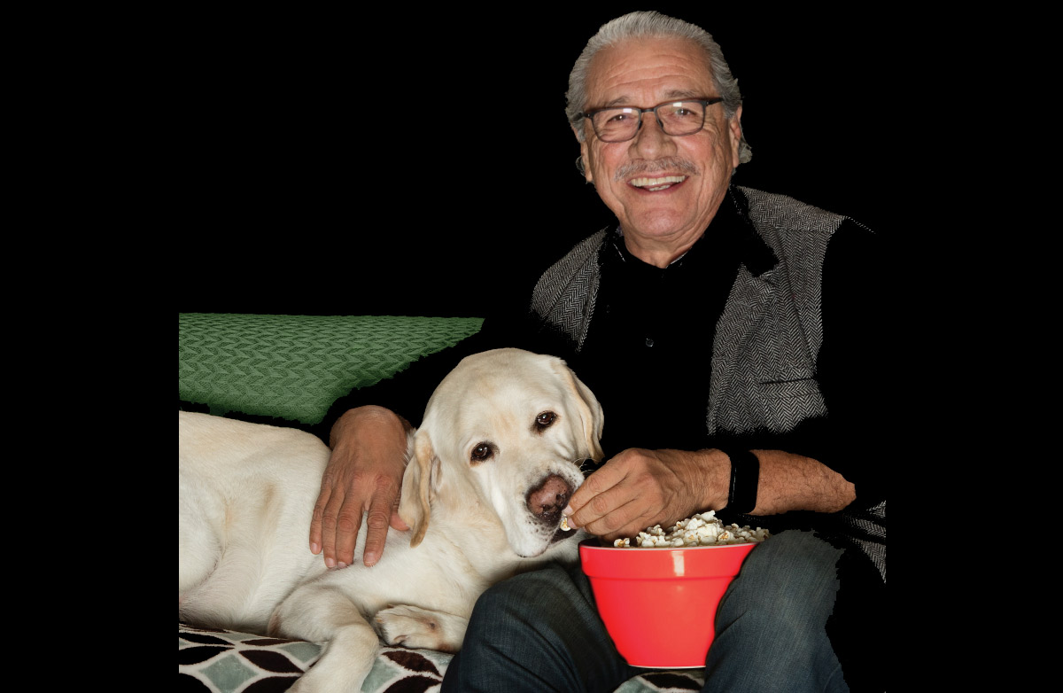 El mensaje de Edward James Olmos y su amado perro Moe