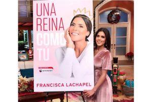 """Libro de Francisca Lachapel """"Una Reina como Tú"""" sale a la venta"""
