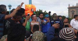 Turba intenta linchar a presunto ladrón en Hidalgo