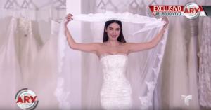 VIDEO: Marlene Favela compartió detalles de su vestido de novia