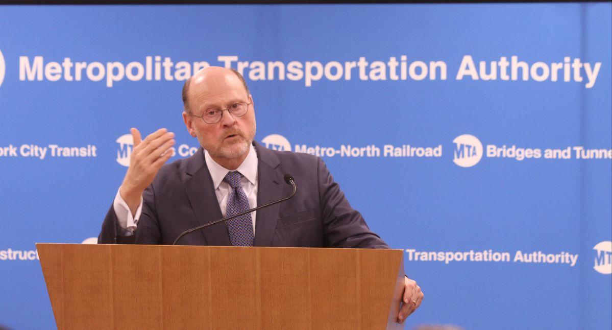 Presidente de MTA advierte que 'tarifa de tráfico' no será suficiente