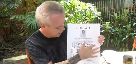 Sicario de Pablo Escobar podría volver a la cárcel